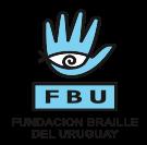 El logo muestra una mano abierta en celeste con un ojo en color blanco en su palma